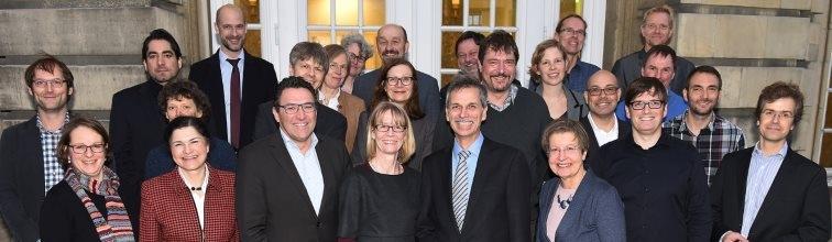 Gründungsmitglieder des WWU Centrum Europa
